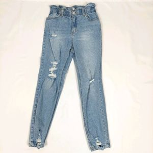 TINSELTOWN SUPER HIGH RISE OLD SCHOOL 80'S JEANS